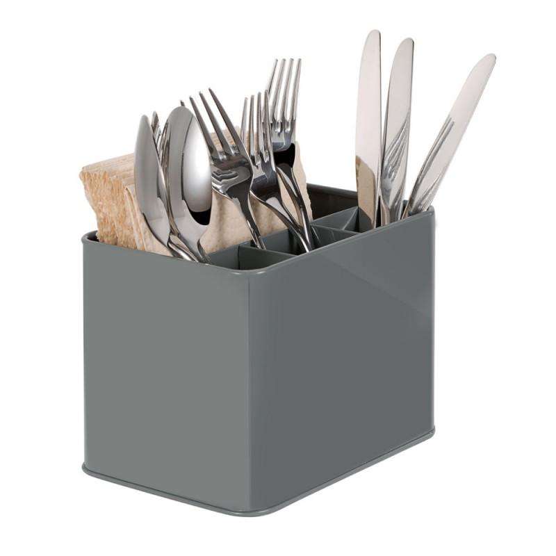 G.a HOMEFAVOR Cutlery Flatware Organizer Napkin Holder Condiment Holder, Multi-Purpose Organizer for Silverware