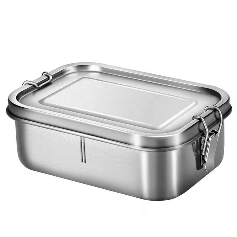 G.a HOMEFAVOR Stainless Steel Lunch Box 800 ml Leakproof Bento Box with Divider